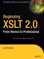 Jeni Tennison, Beginning XSLT 2.0: From Novice to Professional, Amazon.com